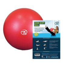 Pilates Soft Ball (23cm, piros)