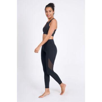 Lucidity Ankle Length leggings - Black