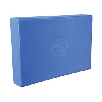 Jóga tégla (30.5cm x 20.5cm x 5cm, kék)