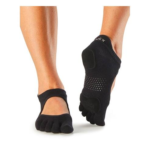 ToeSox Full Toe Prima Bellarina In Black