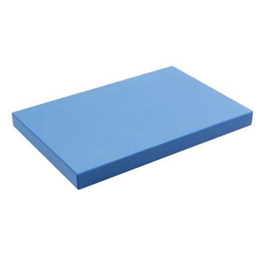 Fél jóga tégla (30.5cm x 20.5cm x 2.5cm, kék)